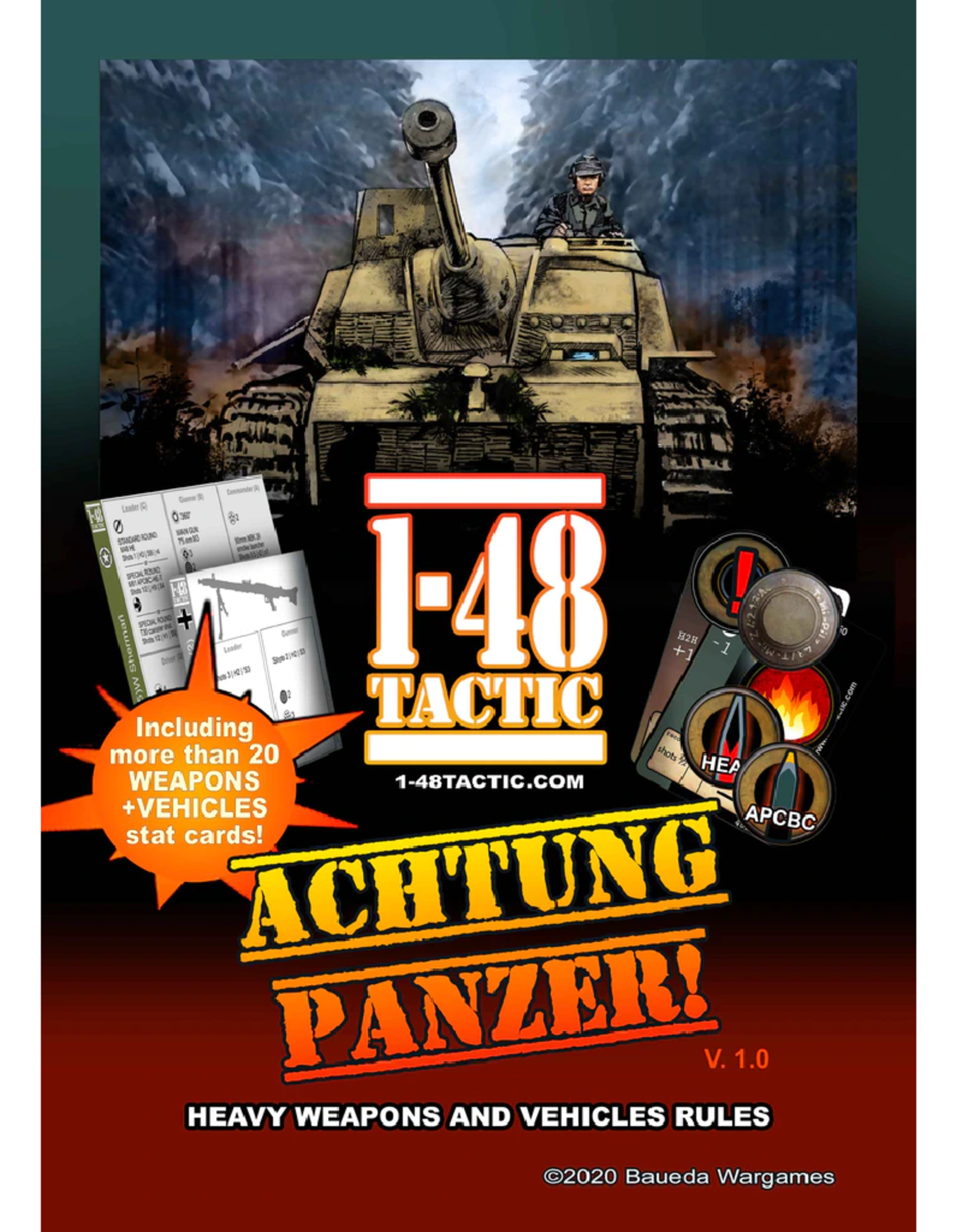 Baueda Achtung Panzer! 1-48 Tactic supplement