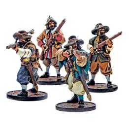 Firelock Games Milicianos unit