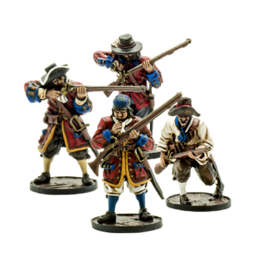 Firelock Games English Militia unit