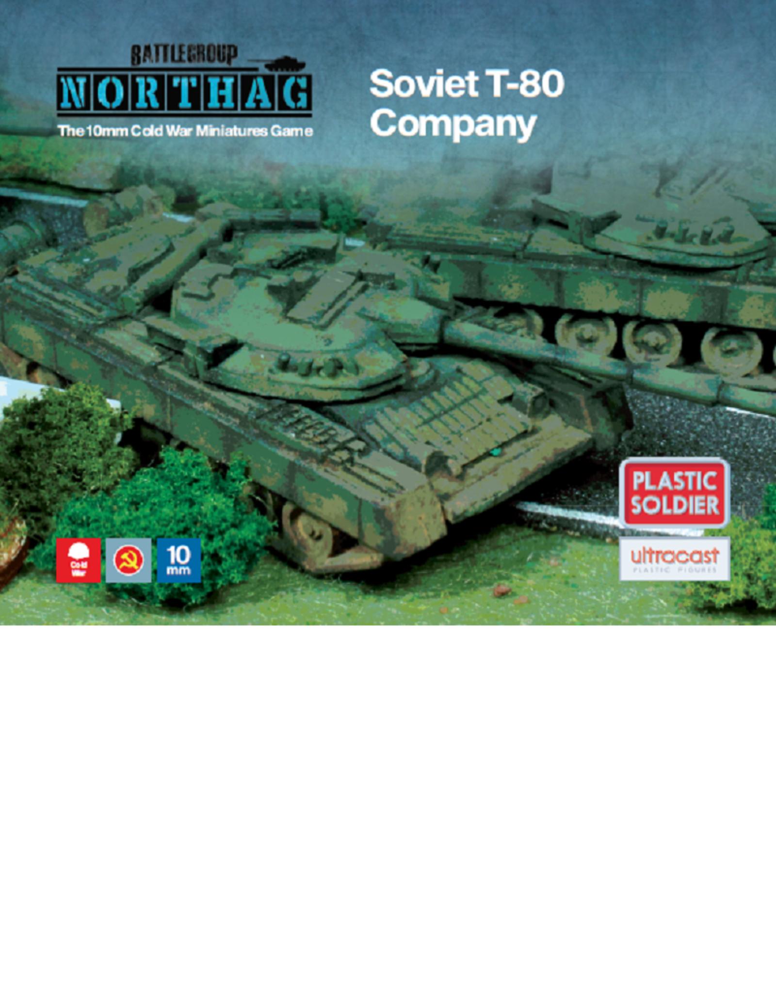 Plastic Soldier Company Soviet T-80 Company