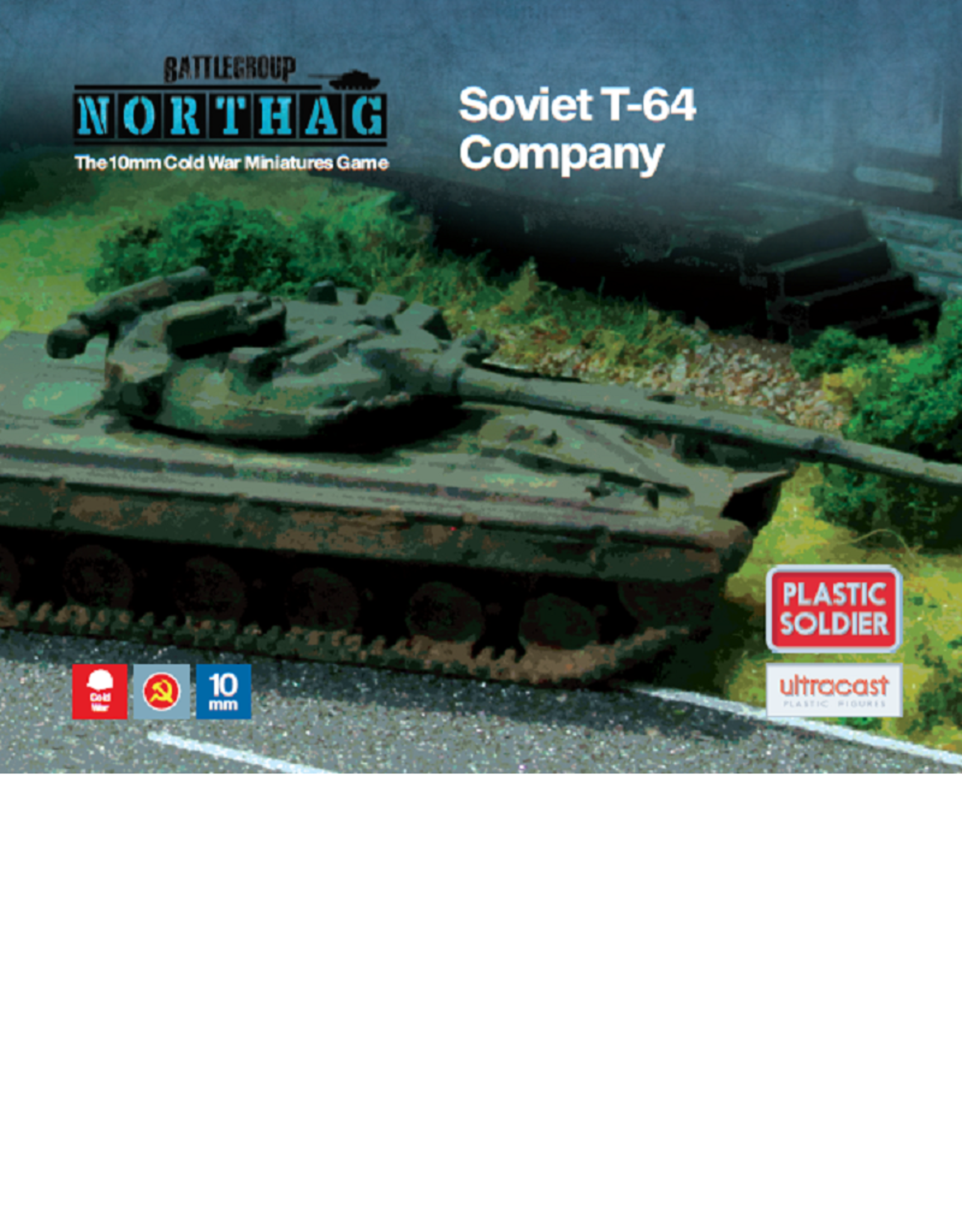 Plastic Soldier Company Soviet T-64 Company