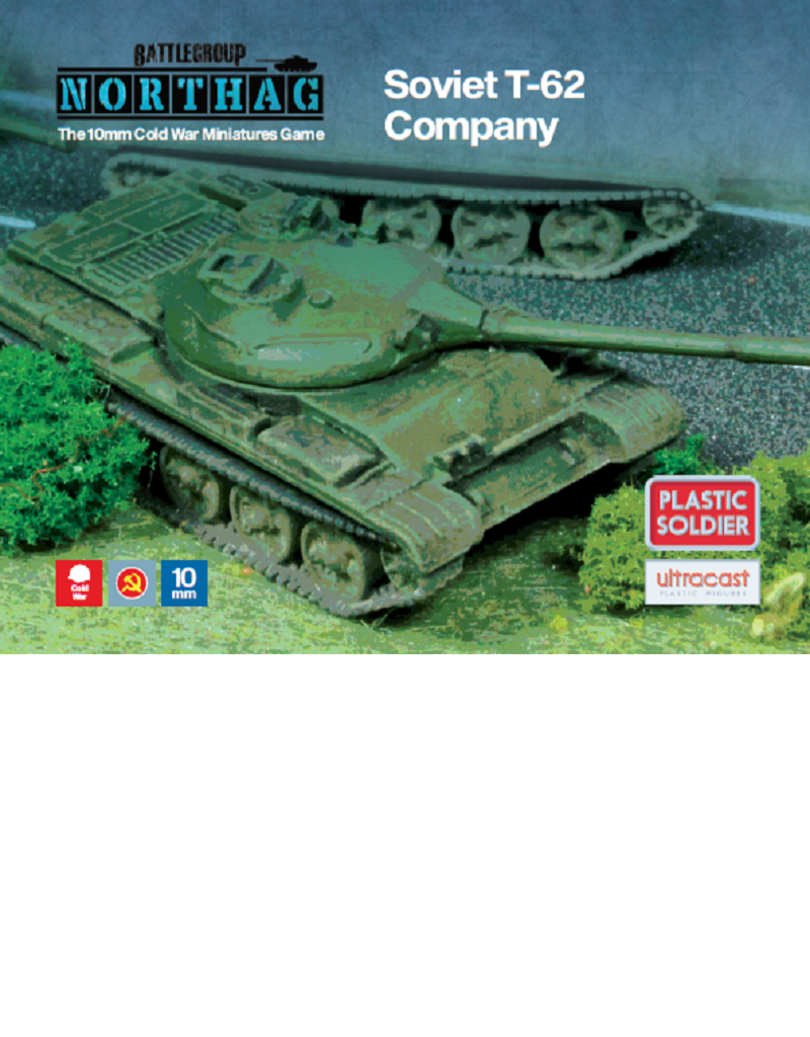 Plastic Soldier Company Soviet T-62 Company