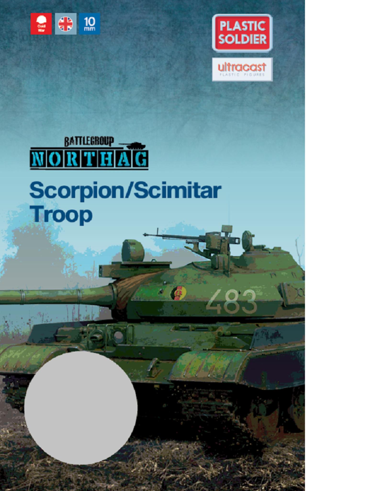 Plastic Soldier Company British Scorpion/Scimitar Troop