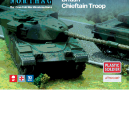 Plastic Soldier Company British Chieftain Troop