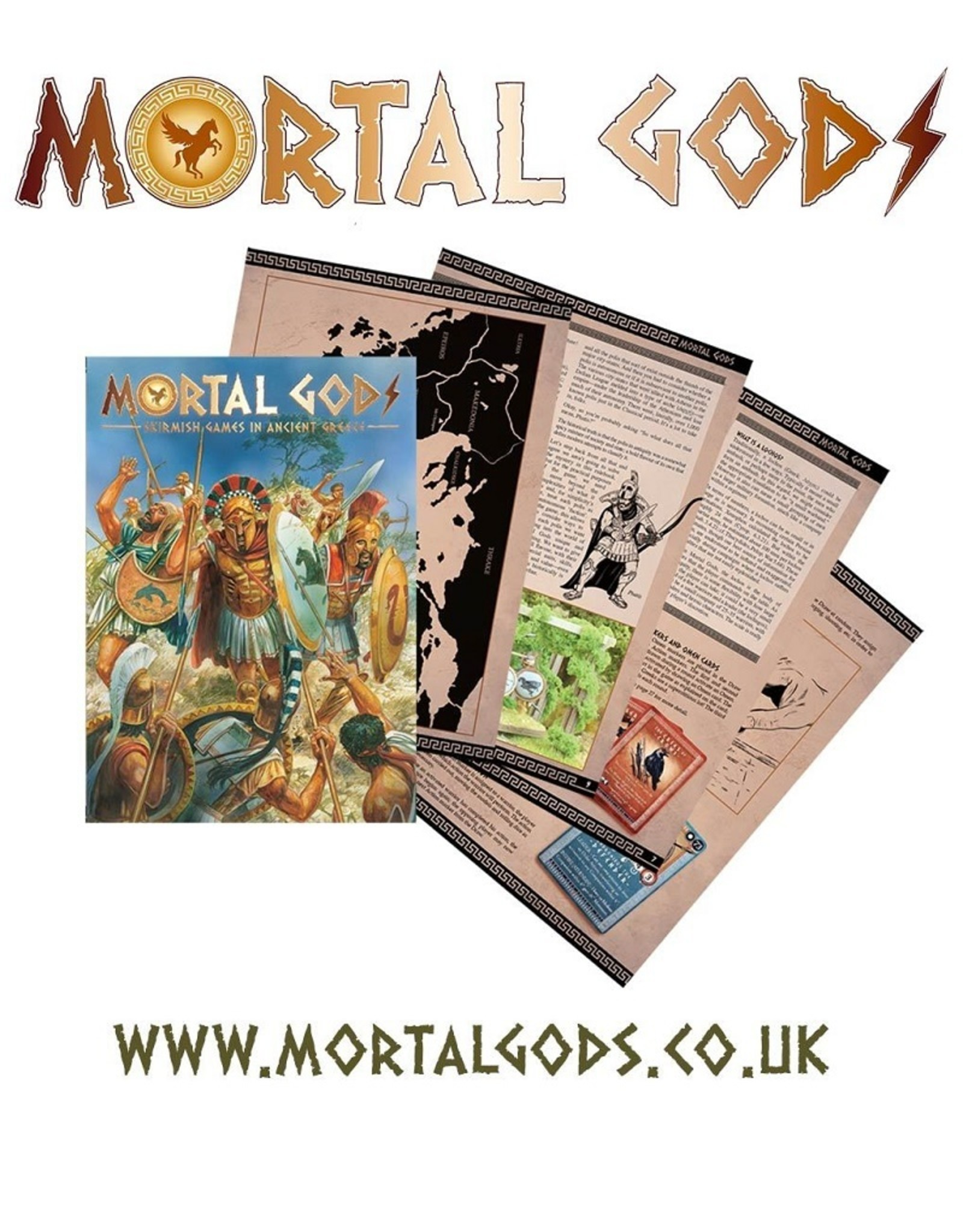 Footsore Mortal Gods - Core Box Set