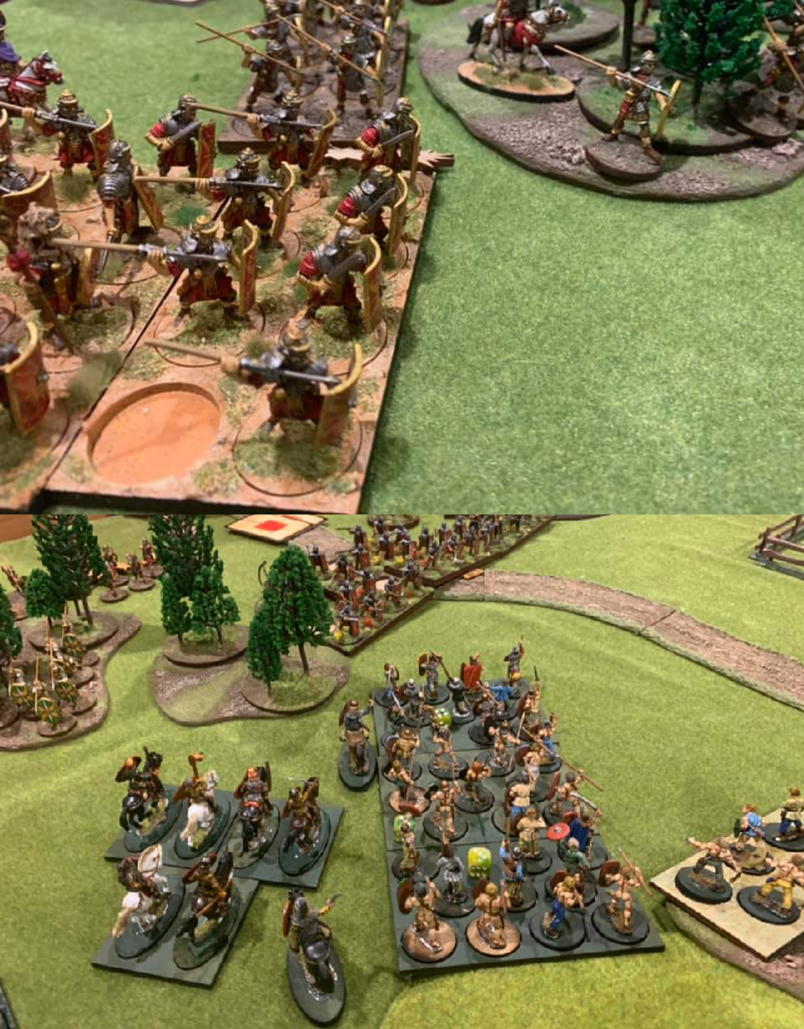 Olympian Games Figure trays for Infamy, Infamy!