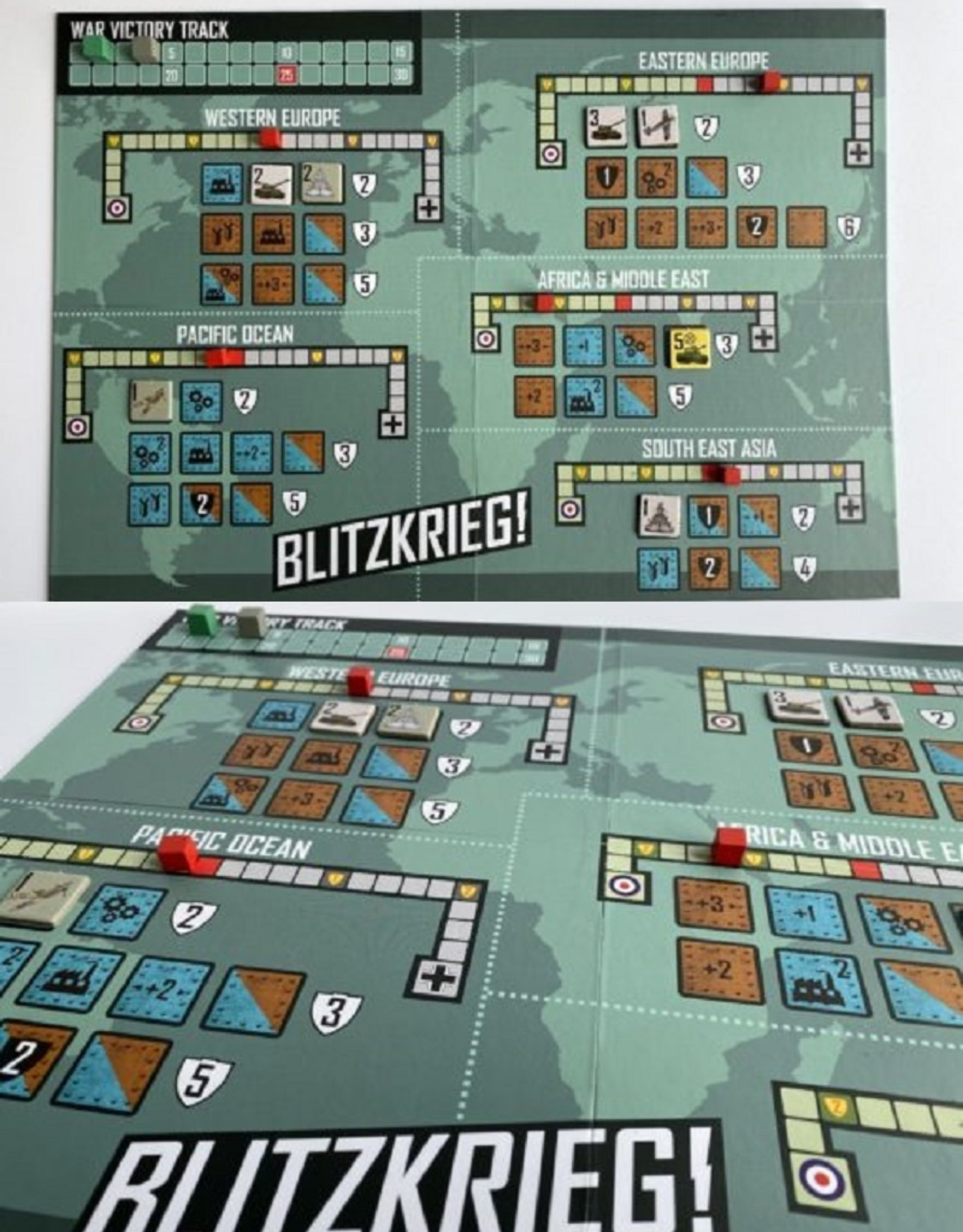 Plastic Soldier Company Blitzkrieg! board game