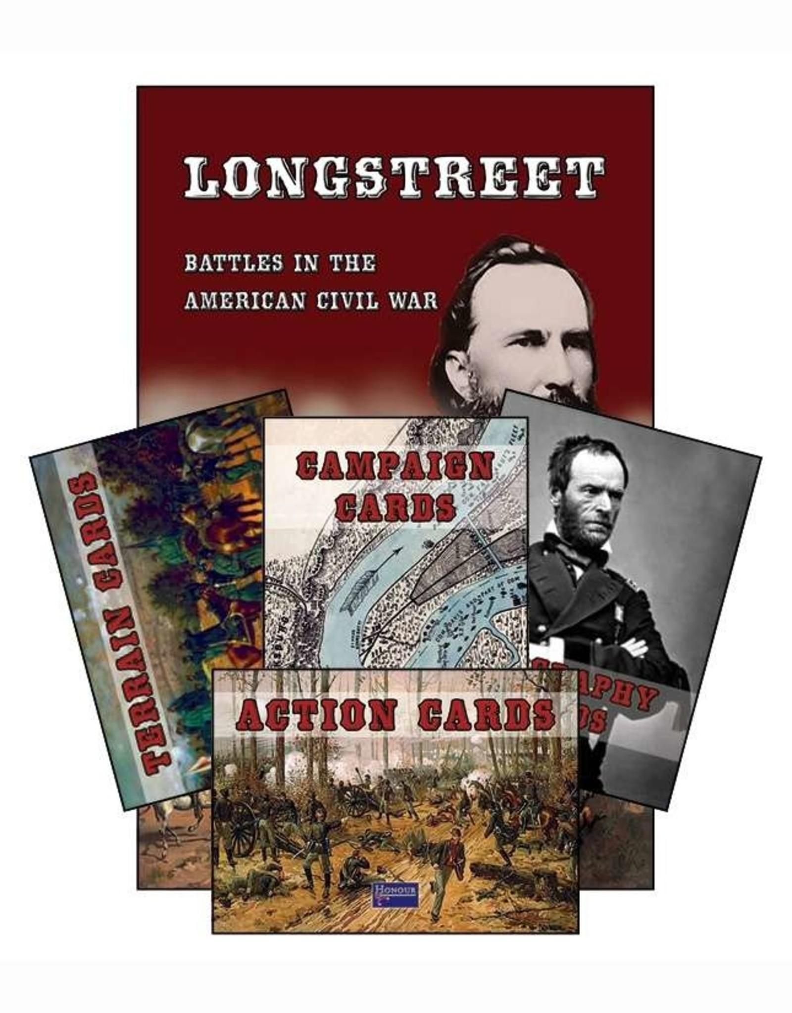 Honour Games (Sam Mustafa) Longstreet game cards