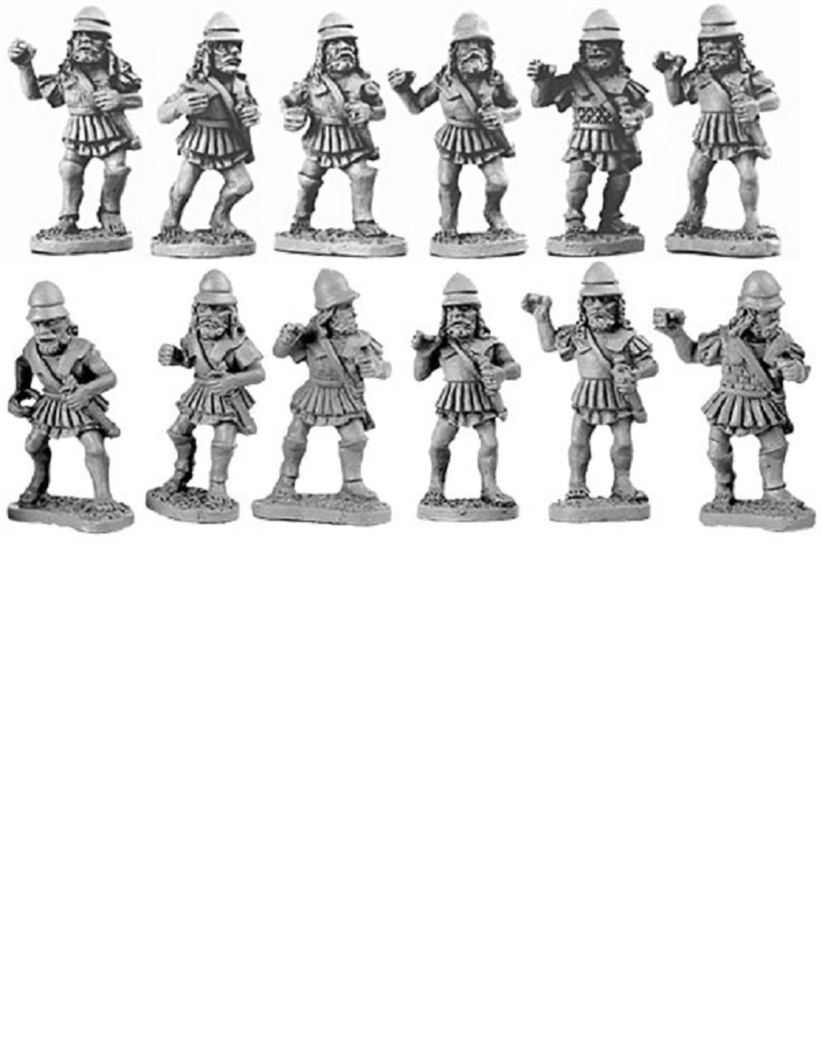 Xyston ANC20005 - Later Spartan Hoplites in Linen Cuirass