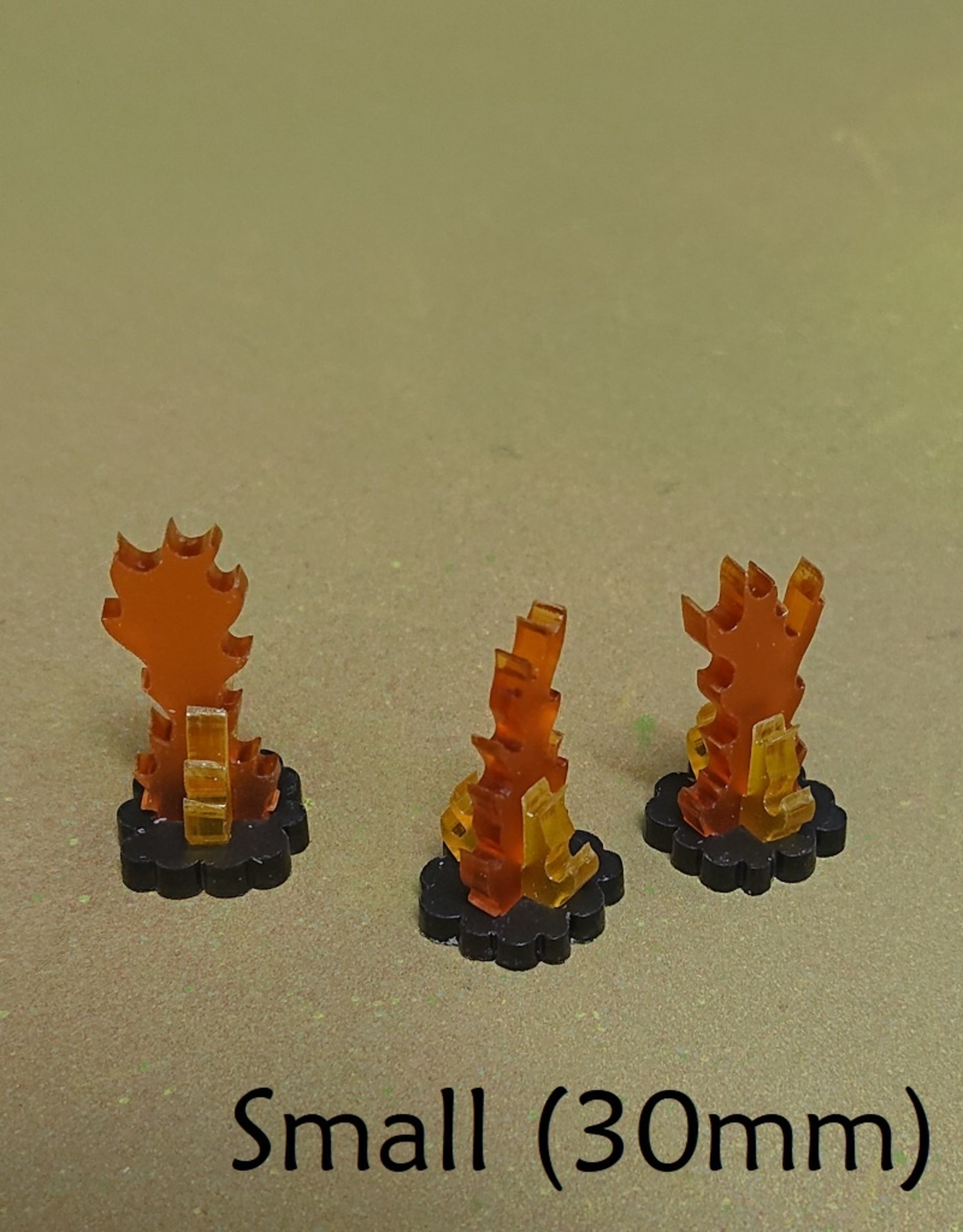 Olympian Games Flames markers