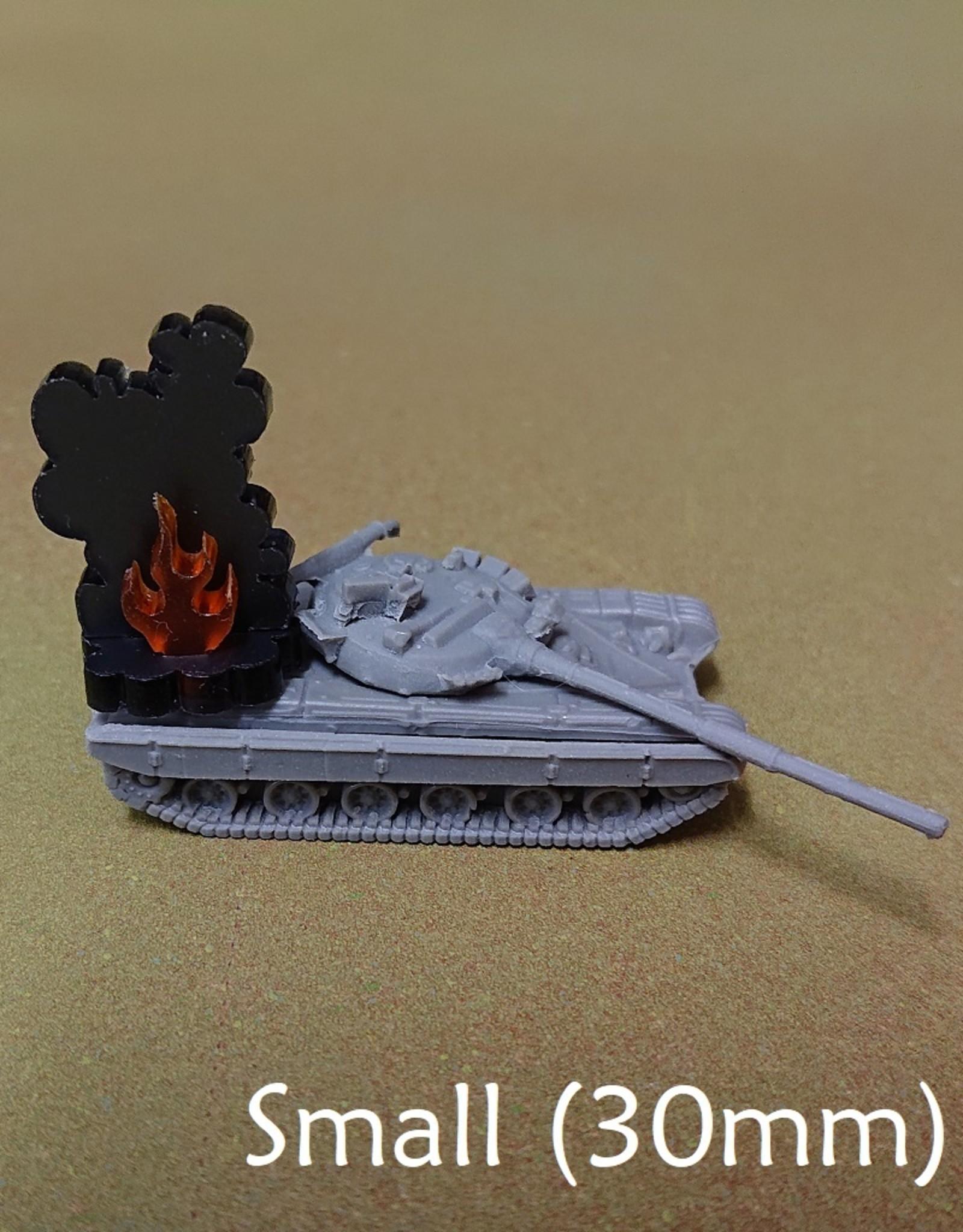 Olympian Games Burning Wreckage