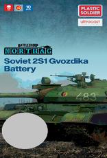 Plastic Soldier Company Soviet 2S1 Gvozdika Battery