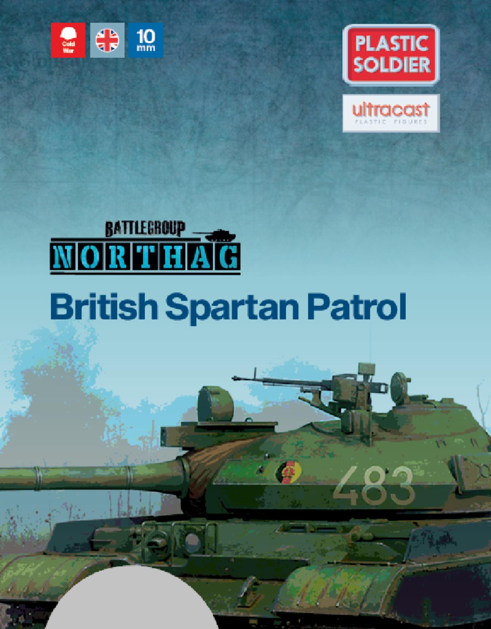 Plastic Soldier Company British Spartan Patrol