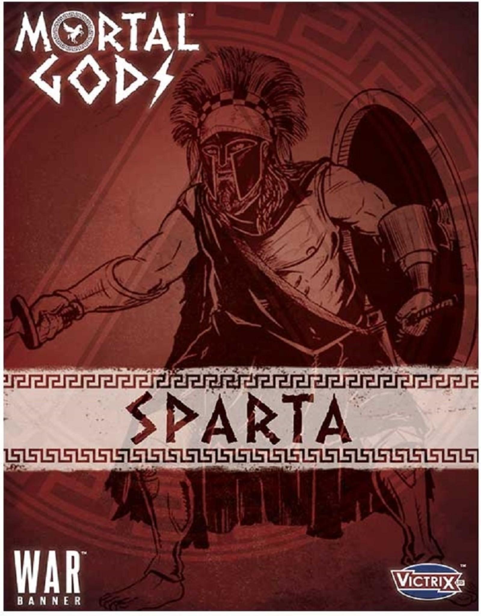 Footsore Mortal Gods - Spartan Lochos