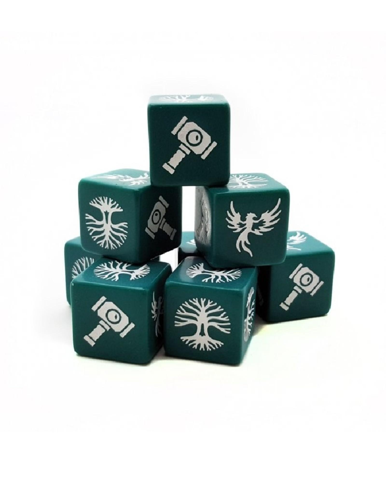 Studio Tomahawk Saga - Forces of Order dice