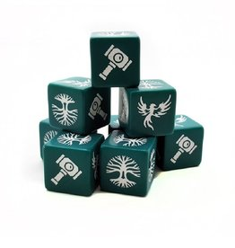 Studio Tomahawk Saga - Forces of Order dice