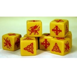 Gripping Beast SAGA Dice:  Welsh