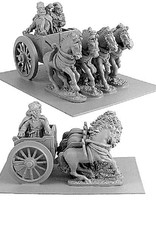 Xyston ANC20083 - Persian General in Four-Horsed Chariot