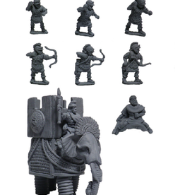 Xyston ANC20269 - Seleucid African Elephant with War Tower