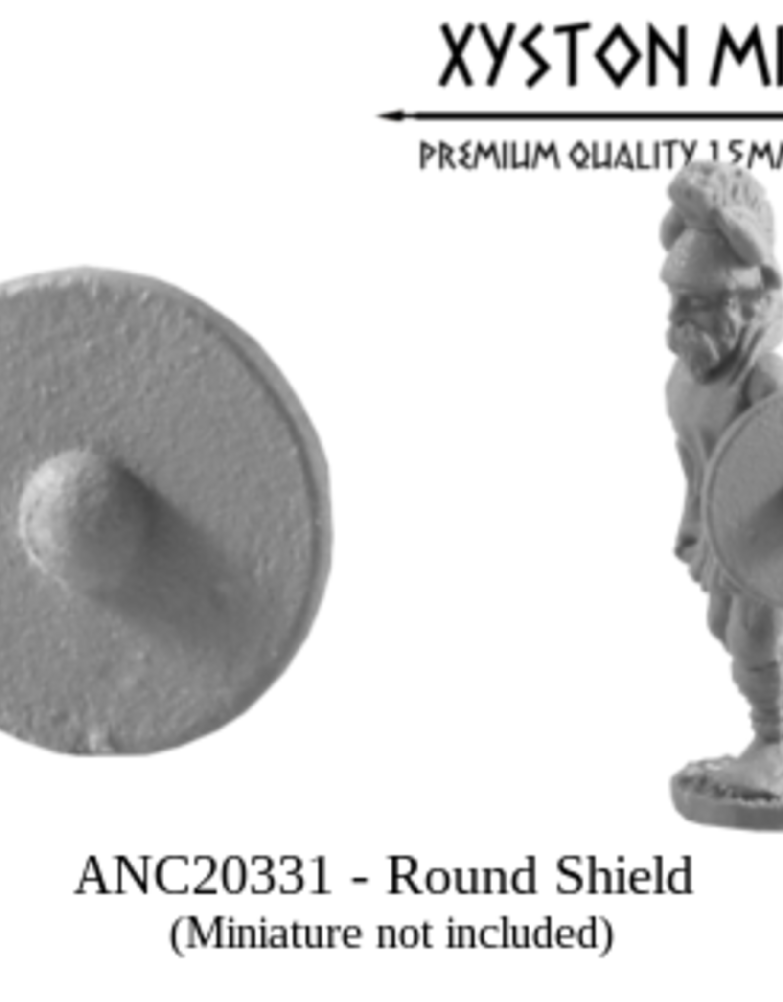 Xyston ANC20331 - Round Shield (24)