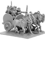 Xyston ANC20100 - Indian 4-Horsed Chariot w/4 Crew
