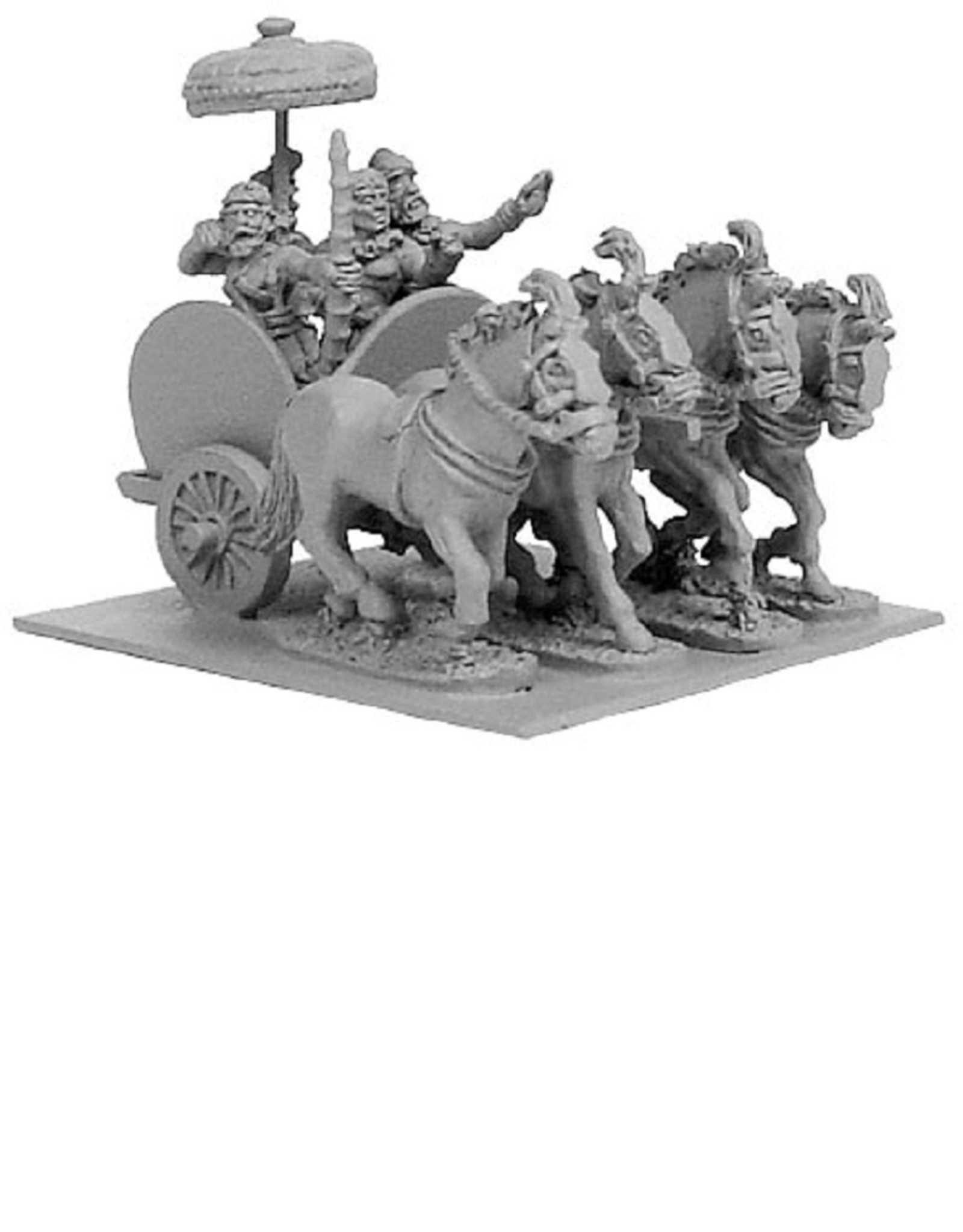 Xyston ANC20101 - Indian General's 4-Horse Chariot w/4 Crew