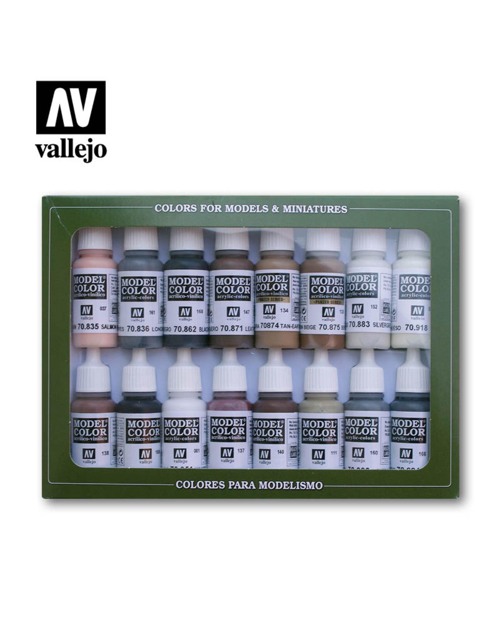 Vallejo Equestrian Colours Set