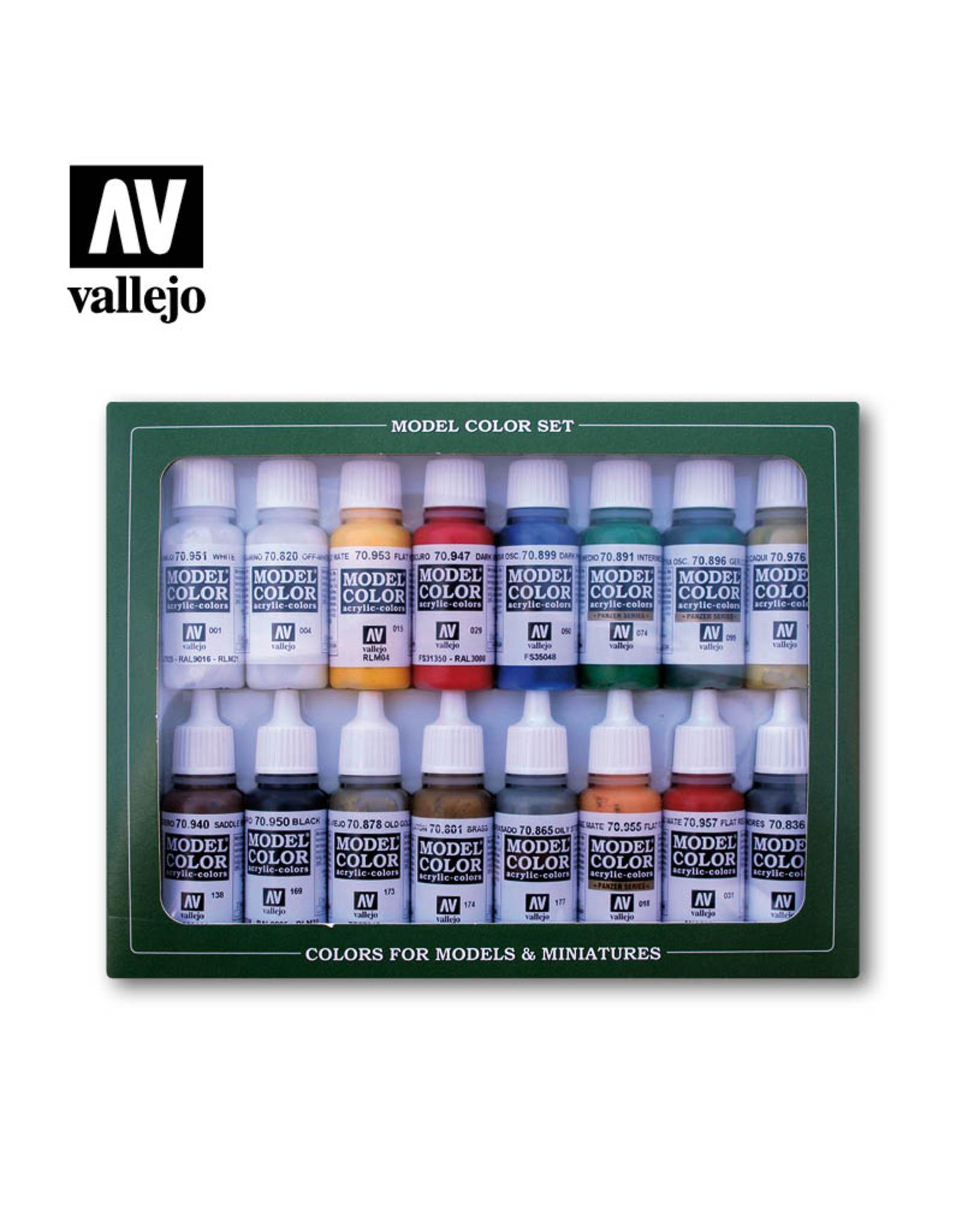 Vallejo French & British Napoleonic Paint Set