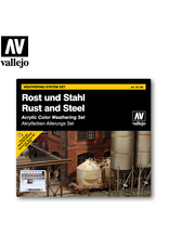 Vallejo Rust & Steel Weathering Set