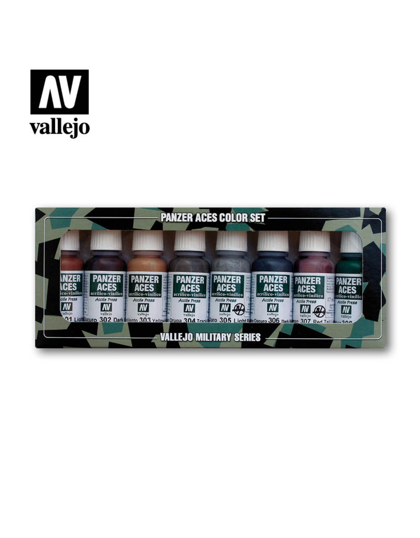 Vallejo Panzer Aces - Rust, Tracks & Rubber