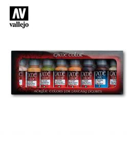 Vallejo Skin Tones Paint Set