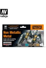 Vallejo Non Metallic Metal Paint Set