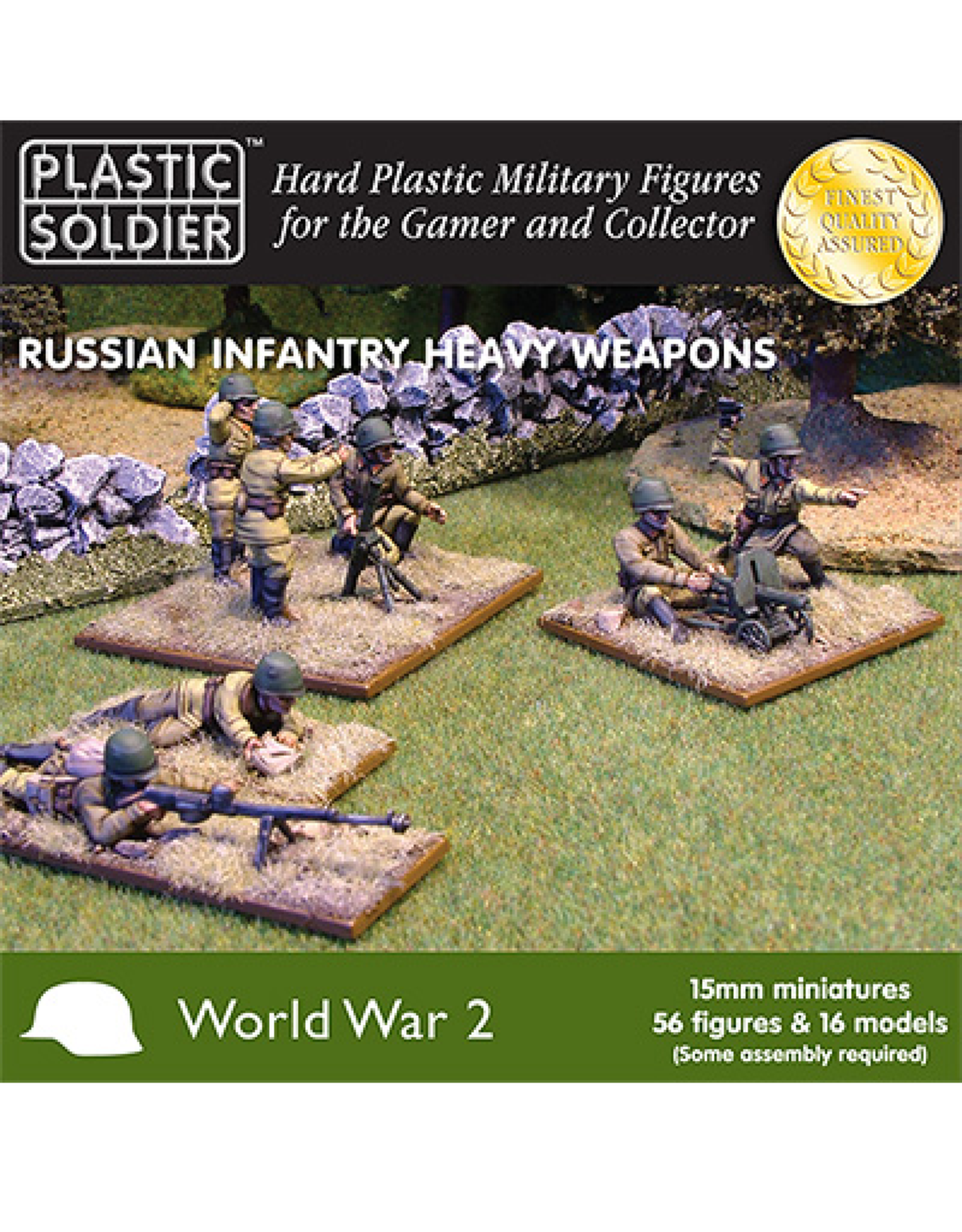 Plastic Soldier Company Russian Infantry Heavy Weapons