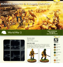 Plastic Soldier Company Russian Infantry in Summer Uniform