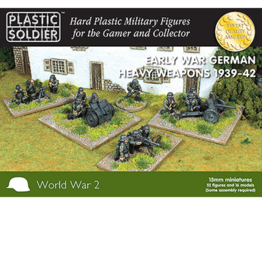 Plastic Soldier Company Early War German Heavy Weapons 1939-42