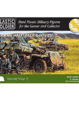Plastic Soldier Company German SdKfz 251 Ausf C Halftrack