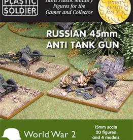 Plastic Soldier Company Russian 45mm anti tank gun