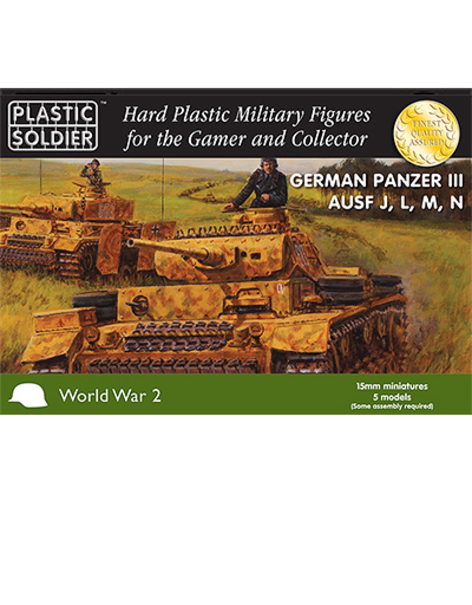 Plastic Soldier Company German Panzer III Ausf J, L, M, N