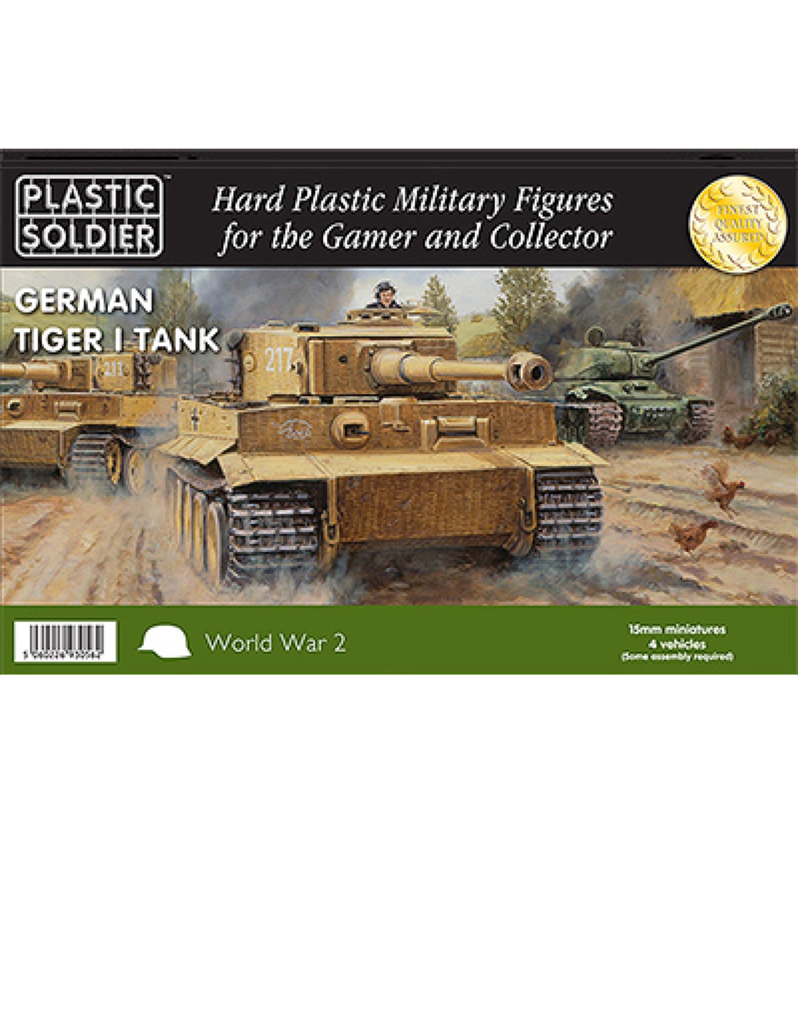 Plastic Soldier Company German Tiger I Tank