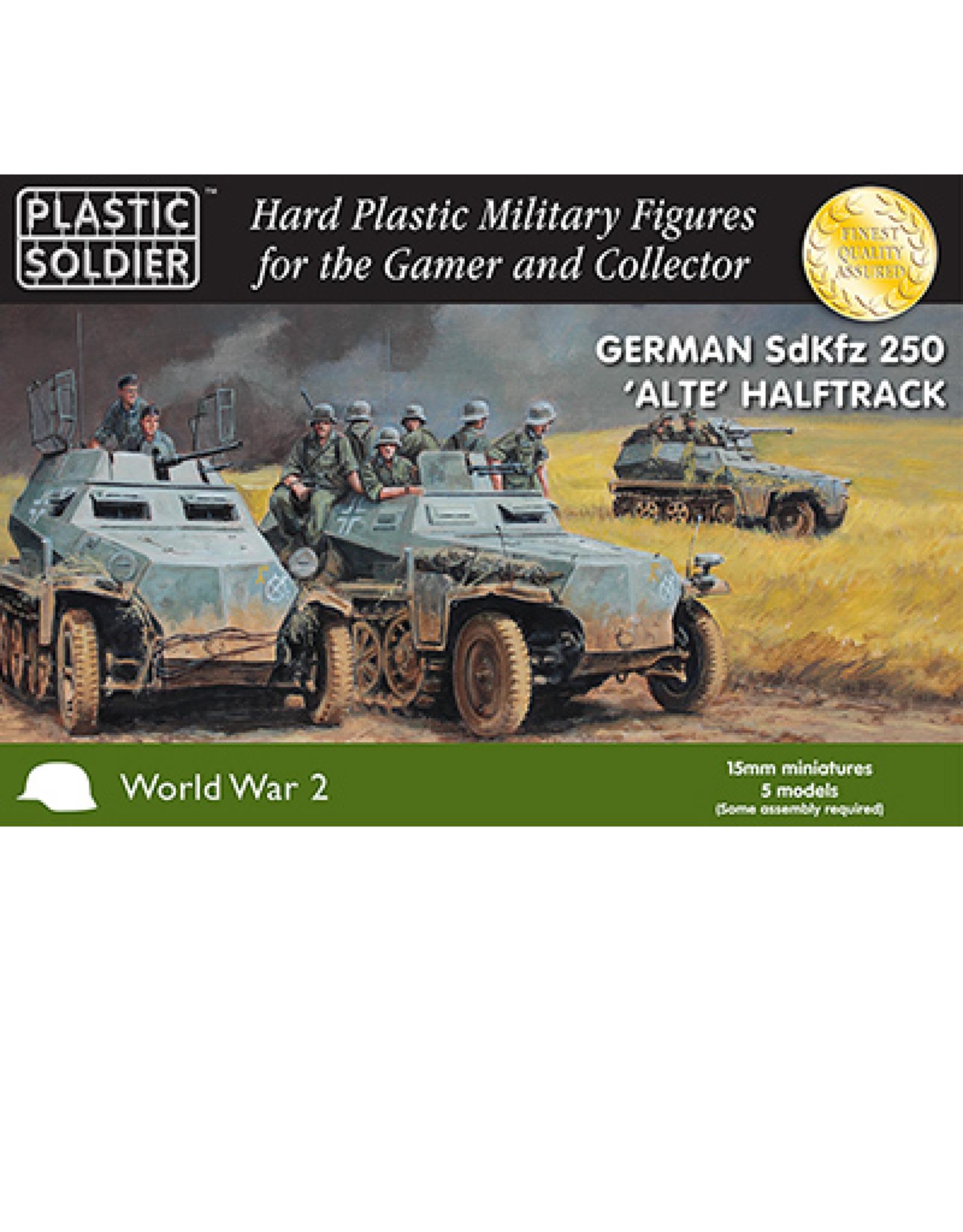 Plastic Soldier Company German SdKfz 250 alte halftrack