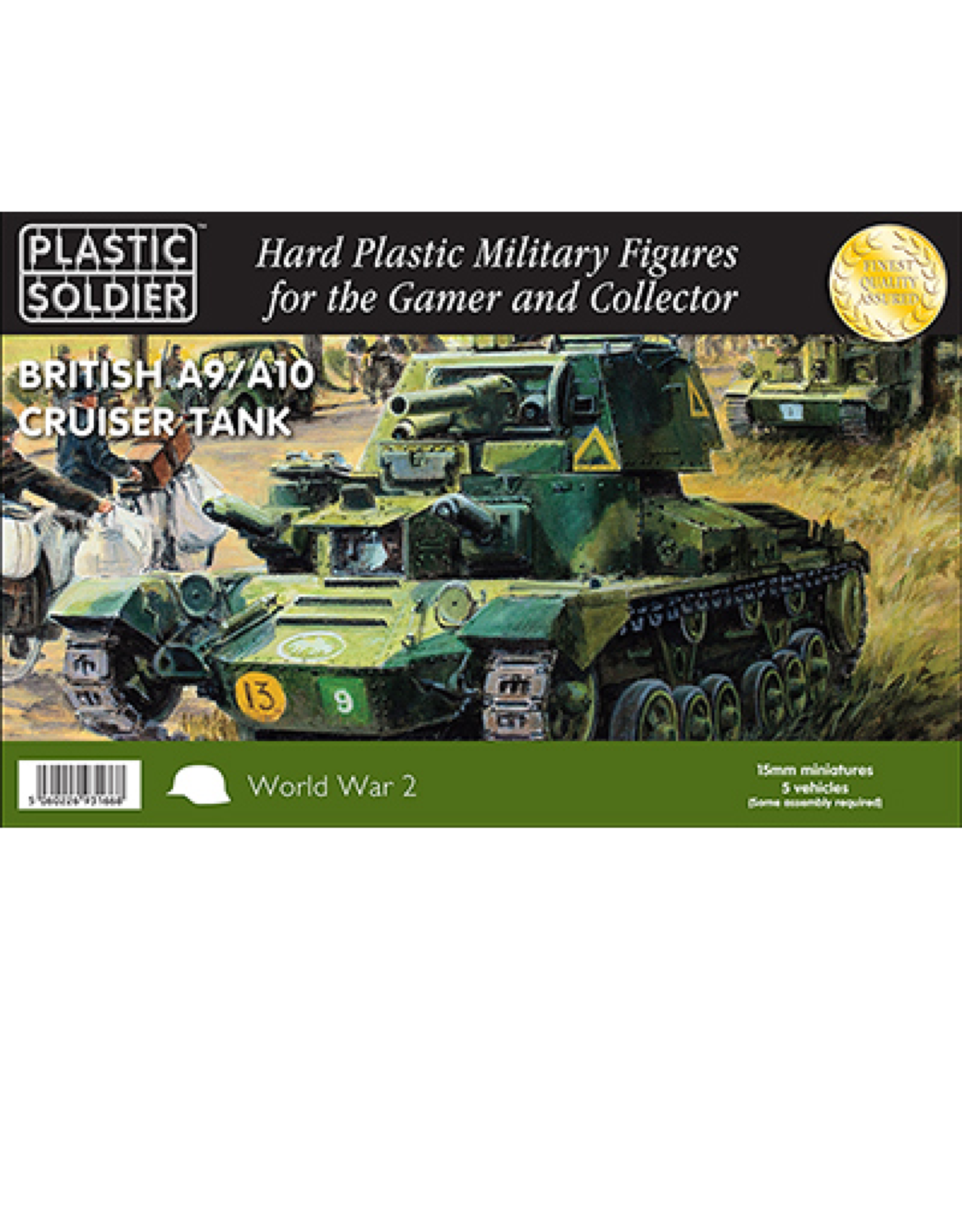 Plastic Soldier Company A9/A10 Cruiser Tank