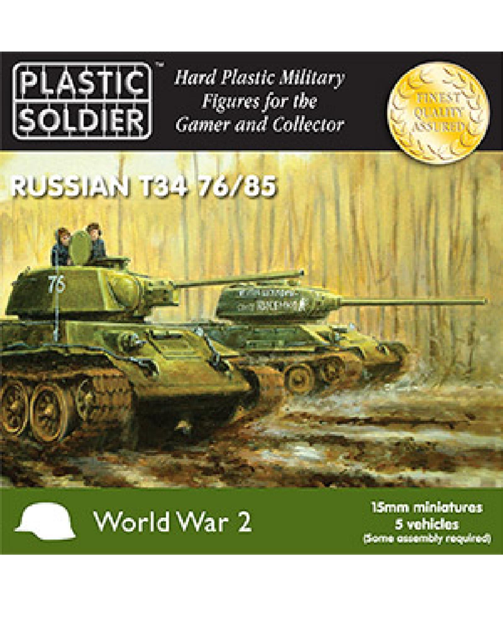 Plastic Soldier Company T-34 76/85