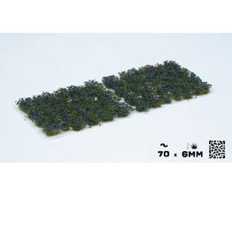Gamers' Grass Blue flowers
