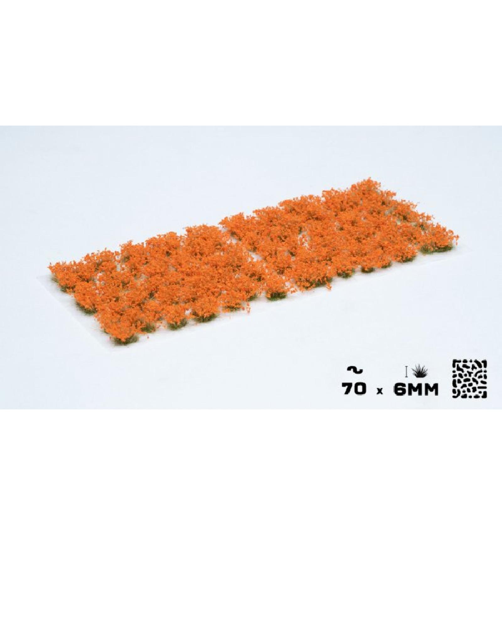 Gamers' Grass Orange Flowers