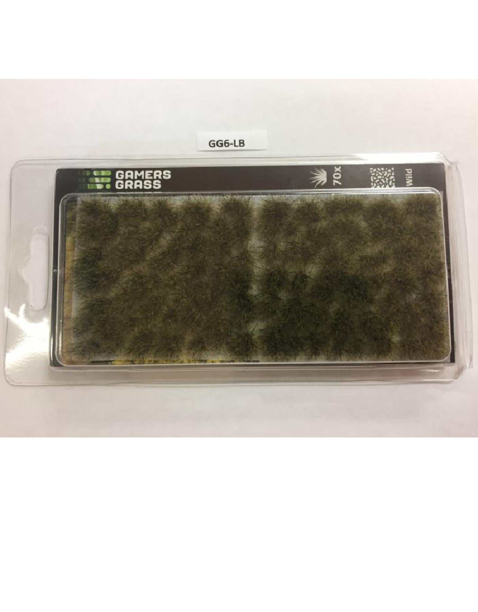 Gamers' Grass Light Brown Tufts (6mm)