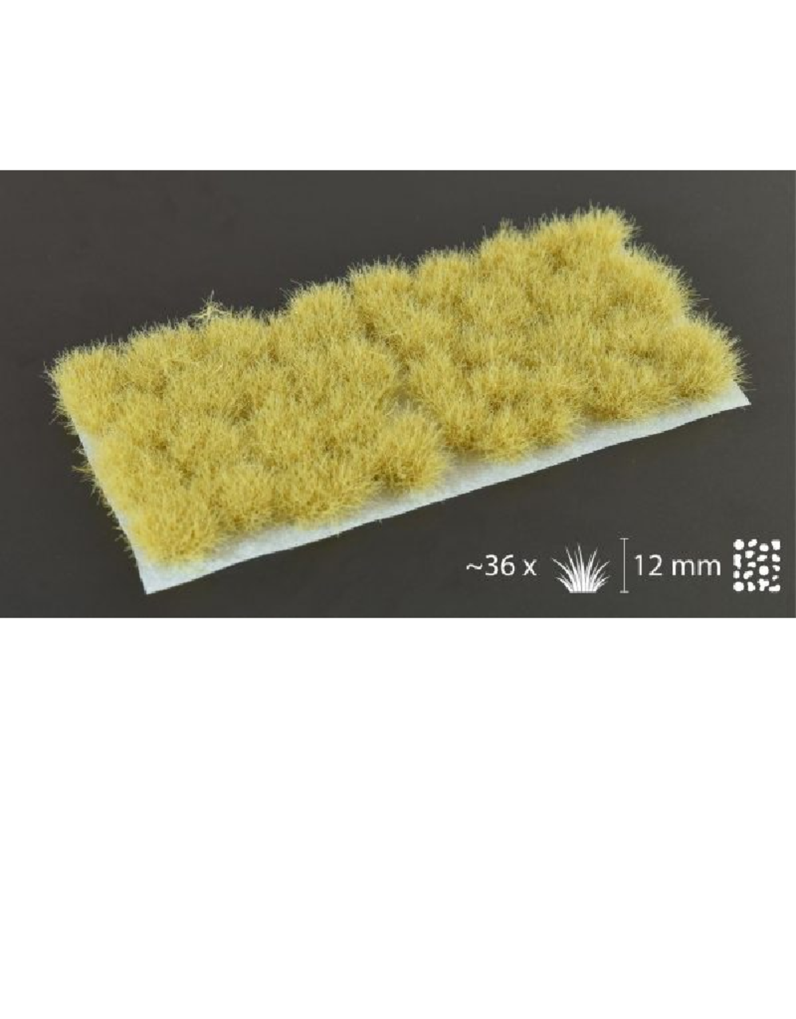Gamers' Grass Beige Tufts (12mm, XL)