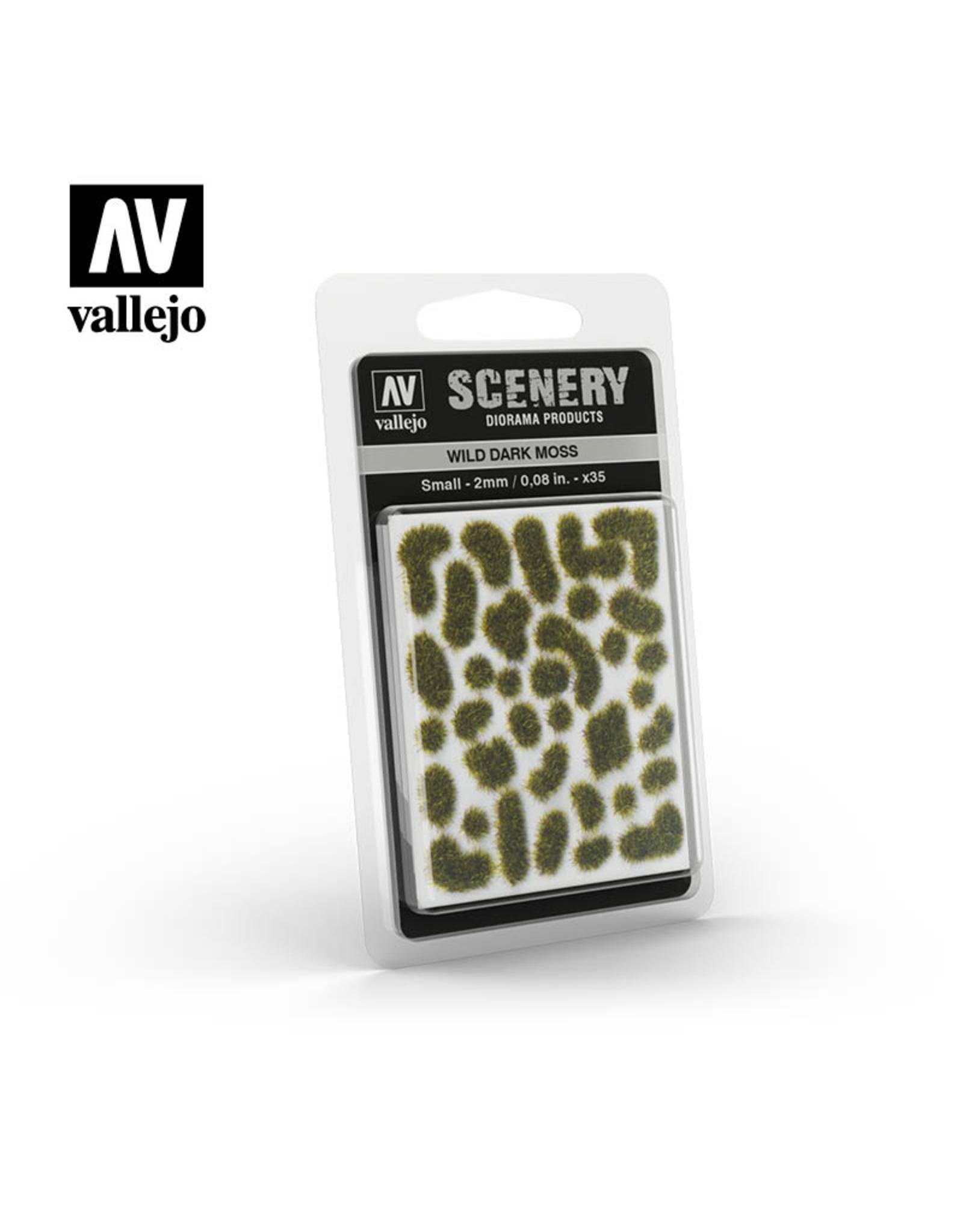 Vallejo Wild dark moss (2mm)
