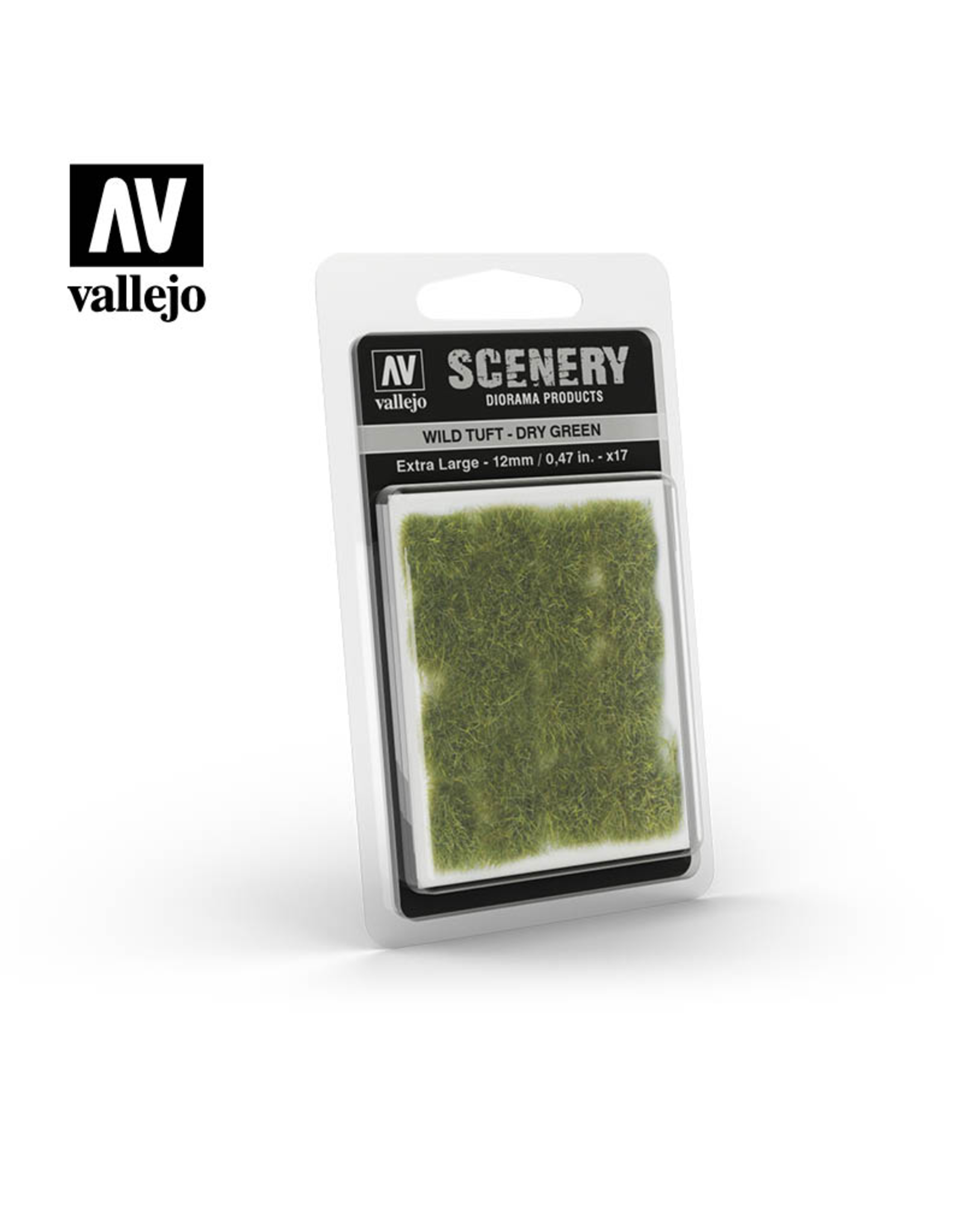 Vallejo Wild tuft - Dry Green (12mm)