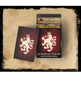 Firelock Games European Forces Activation Deck