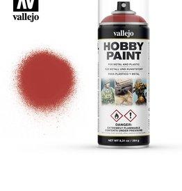 Vallejo Scarlet Red spray paint